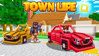 Town Life on the Minecraft Marketplace by Fall Studios