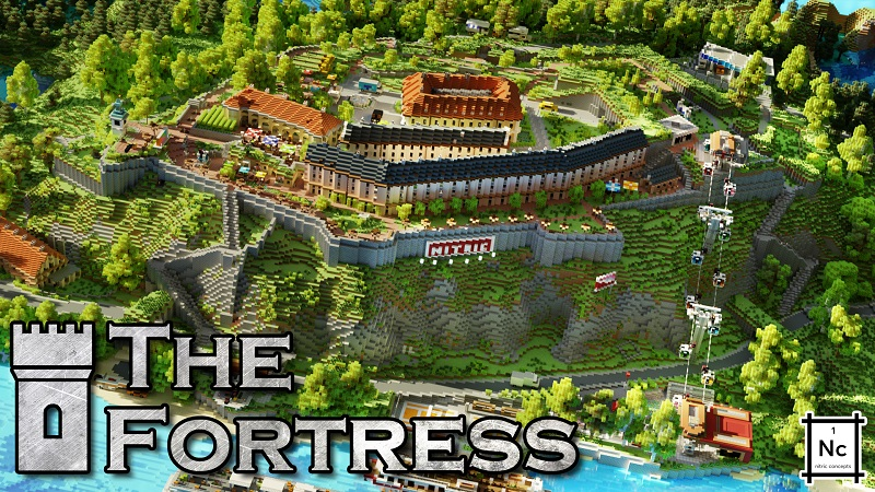 The Fortress on the Minecraft Marketplace by Nitric Concepts