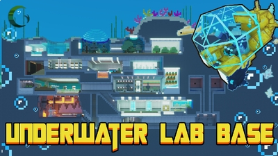 Underwater Lab Base on the Minecraft Marketplace by Cynosia