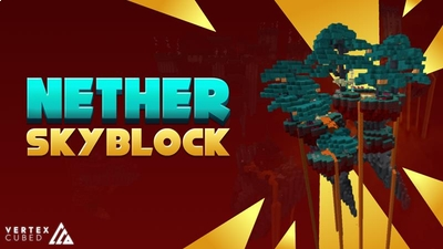 Nether Skyblock on the Minecraft Marketplace by Vertexcubed