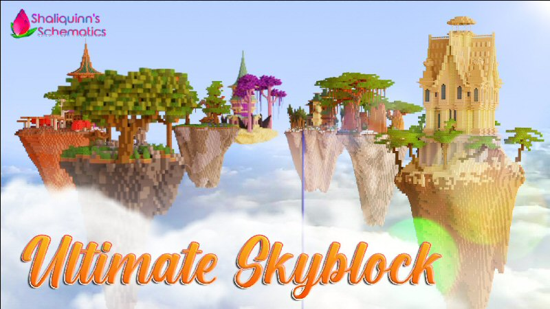 Ultimate Skyblock on the Minecraft Marketplace by Shaliquinn's Schematics