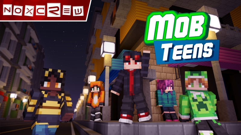 Mob Teens on the Minecraft Marketplace by Noxcrew