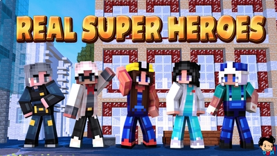 Real Super Heroes on the Minecraft Marketplace by Duh