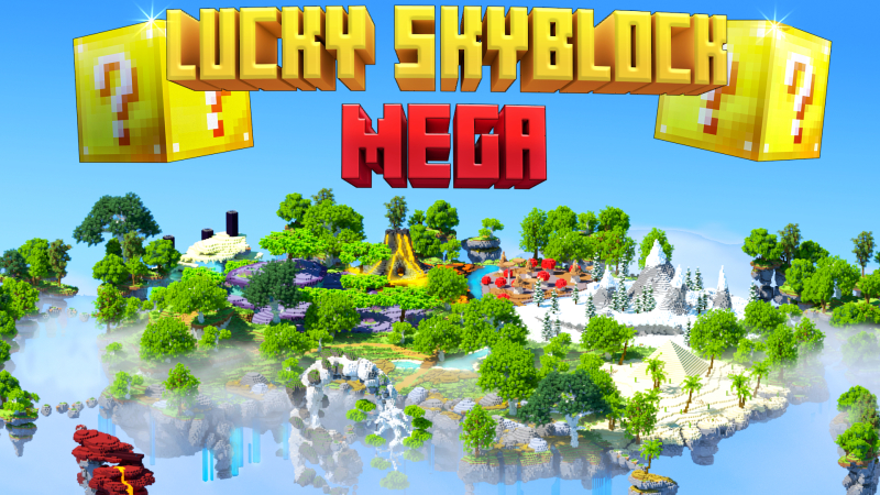 Lucky Skyblock Mega on the Minecraft Marketplace by Norvale
