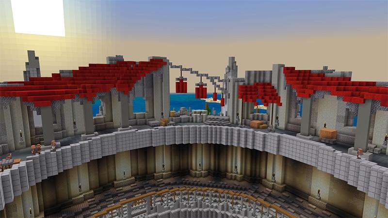 Kraken Colosseum by Diluvian