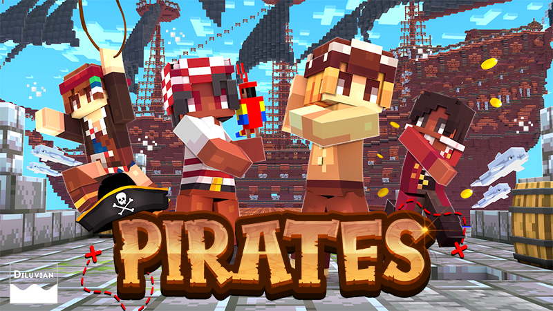 Pirates on the Minecraft Marketplace by Diluvian