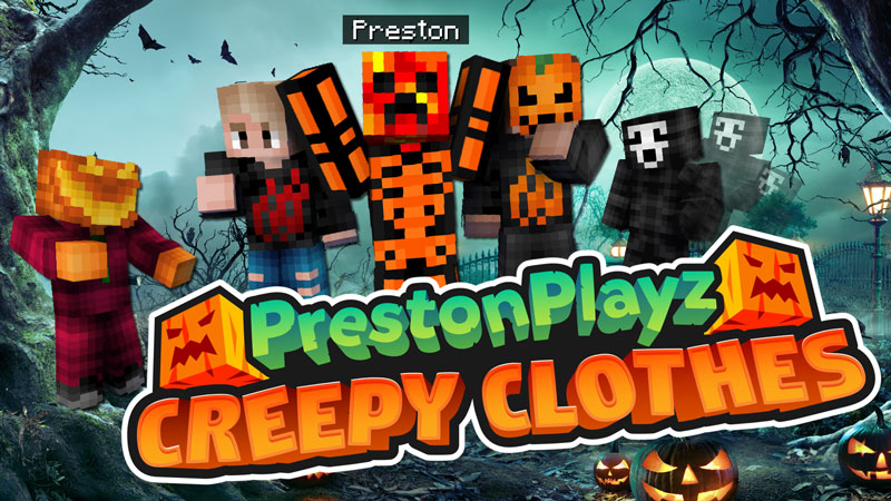 PrestonPlayz Creepy Clothes on the Minecraft Marketplace by Meatball Inc
