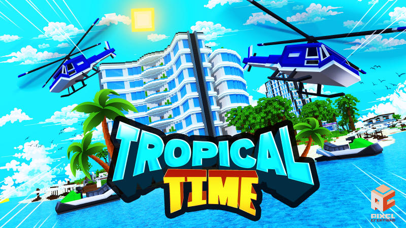 Tropical Time on the Minecraft Marketplace by BLOCKLAB Studios