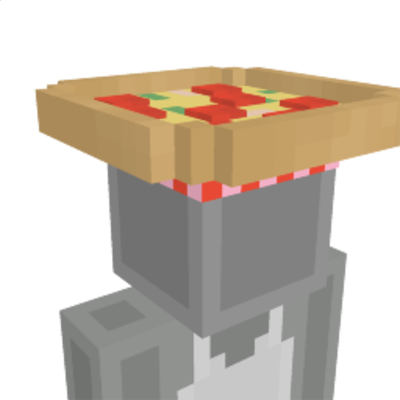 Pizza Hat on the Minecraft Marketplace by BLOCKLAB Studios