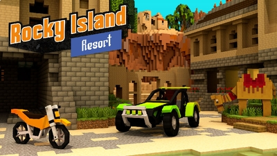 Rocky Island Resort on the Minecraft Marketplace by Impulse