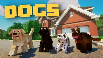 Dogs on the Minecraft Marketplace by Fall Studios