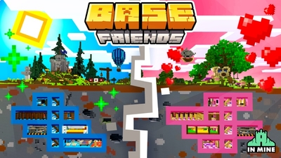 Friends Base on the Minecraft Marketplace by In Mine