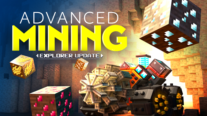 Advanced Mining on the Minecraft Marketplace by Gamemode One