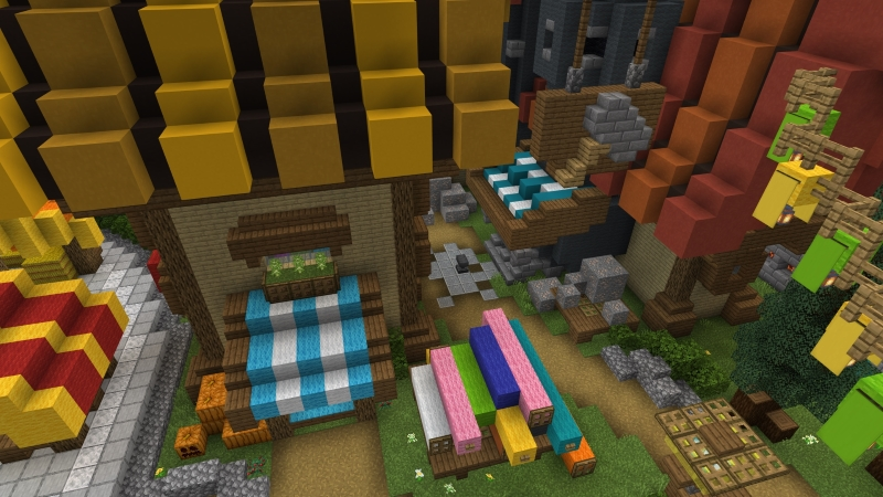 Magic Kingdom on the Minecraft Marketplace by In Mine