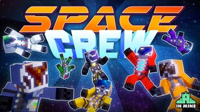 Space Crew on the Minecraft Marketplace by In Mine