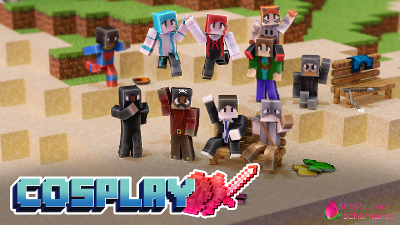 Cosplay on the Minecraft Marketplace by Shaliquinn's Schematics