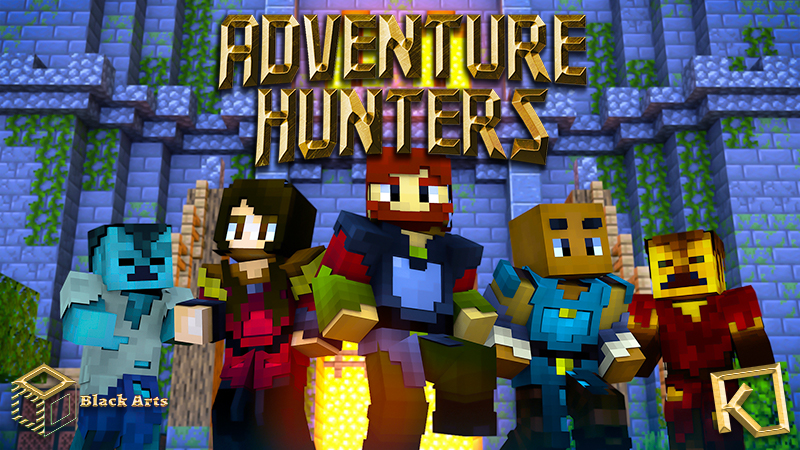 Adventure Hunters on the Minecraft Marketplace by Black Arts Studio