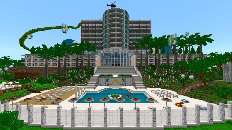 All-Inclusive Resort by Shaliquinn's Schematics