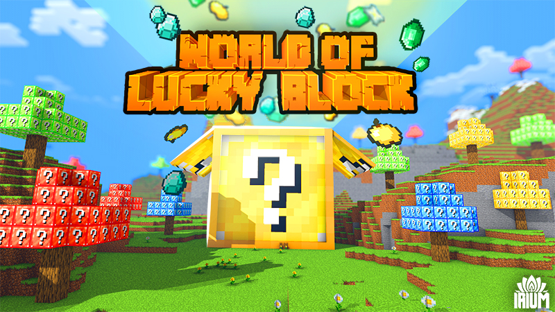 World of Lucky Block on the Minecraft Marketplace by IriumBT