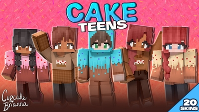 Cake Teens HD Skin Pack on the Minecraft Marketplace by CupcakeBrianna