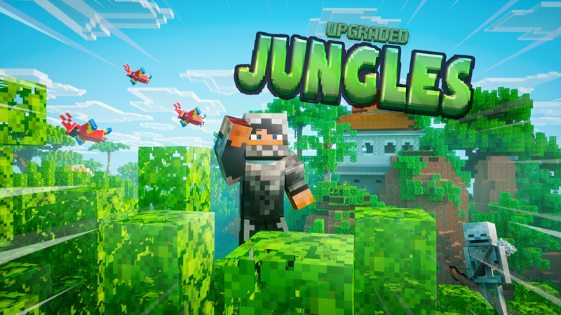 Upgraded Jungles on the Minecraft Marketplace by Chunklabs