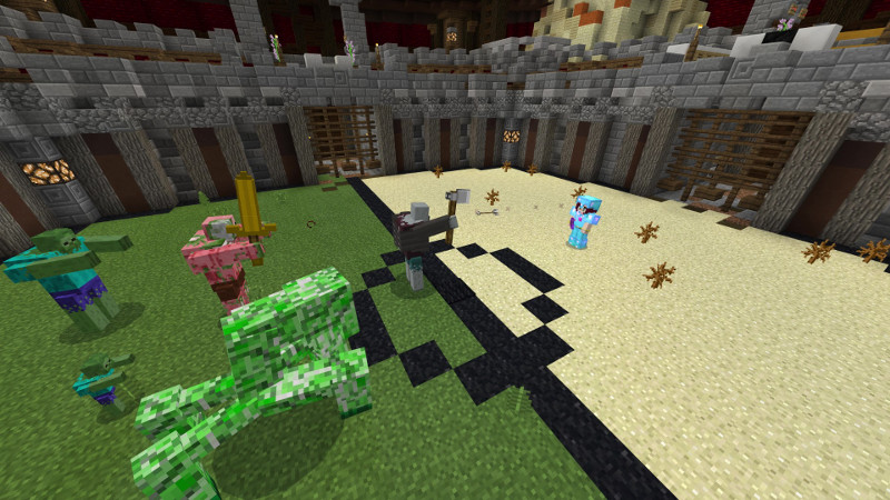 Mutant Battle Arena! on the Minecraft Marketplace by Jigarbov Productions