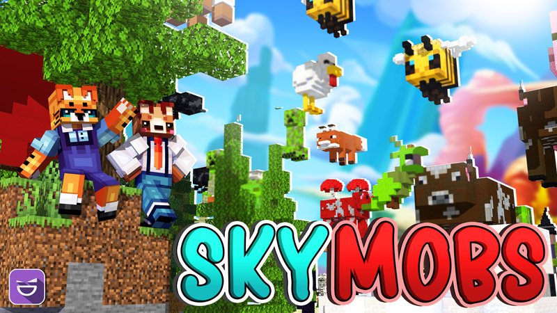 Sky Mobs on the Minecraft Marketplace by Giggle Block Studios