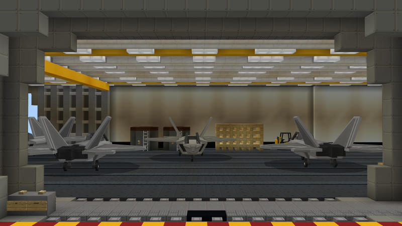 The Aircraft Carrier by BLOCKLAB Studios