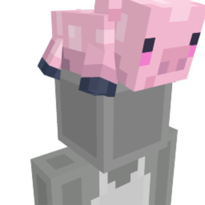 Piglet Hat on the Minecraft Marketplace by Pixelbiester
