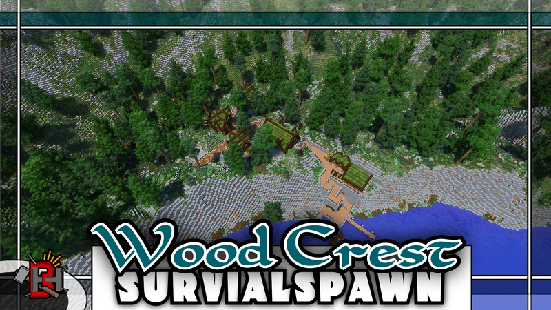 Wood Crest on the Minecraft Marketplace by Builders Horizon