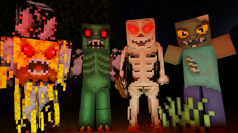 Horror Mobs on the Minecraft Marketplace by CubeCraft Games