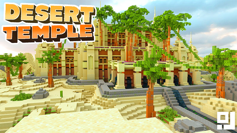 Desert Temple on the Minecraft Marketplace by inPixel