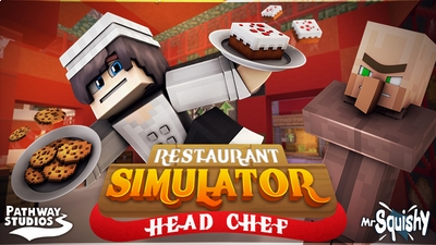 Restaurant Sim Head Chef on the Minecraft Marketplace by Pathway Studios