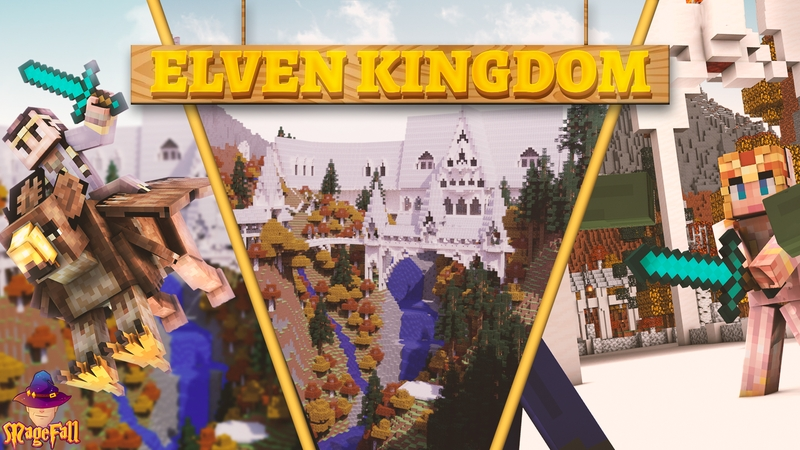 Elven Kingdom on the Minecraft Marketplace by Magefall