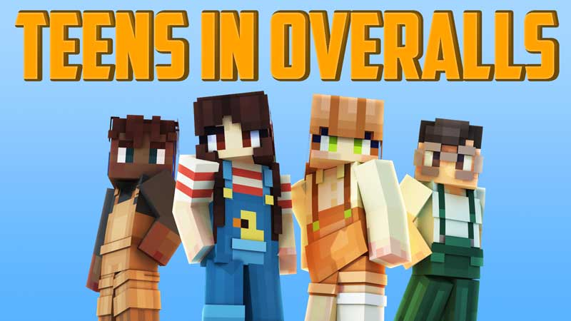 Teens in Overalls on the Minecraft Marketplace by Blockception