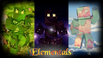 Elementals on the Minecraft Marketplace by Cynosia