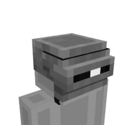 Helmet with Goggles on the Minecraft Marketplace by The Lucky Petals
