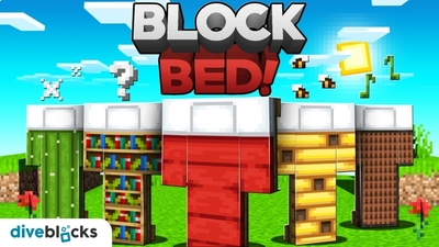 Block Bed on the Minecraft Marketplace by Diveblocks
