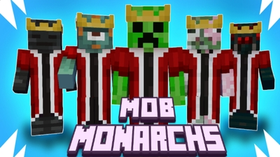 Mob Monarchs on the Minecraft Marketplace by Pixelationz Studios