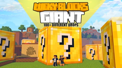 Lucky Blocks Giant on the Minecraft Marketplace by IriumBT