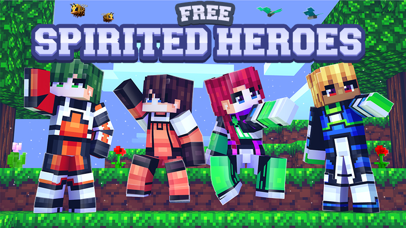 Free Spirited Heroes on the Minecraft Marketplace by Dark Lab Creations