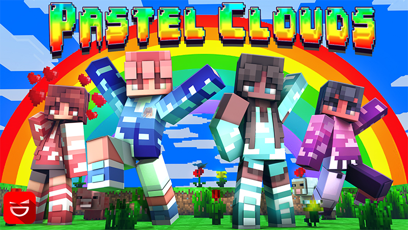 Pastel Clouds on the Minecraft Marketplace by Giggle Block Studios