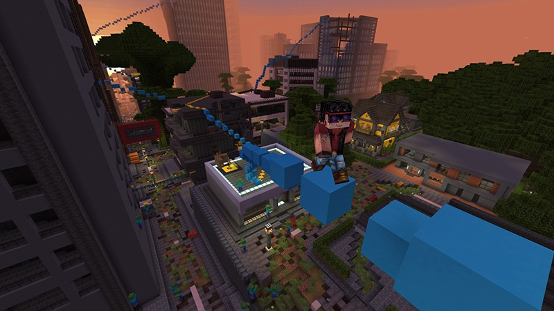 Zombie Parkour by Lifeboat