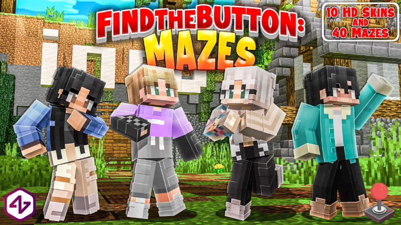 Find the Button: Mazes