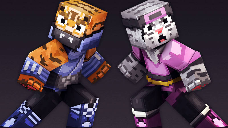 Ninja Cats on the Minecraft Marketplace by 57Digital