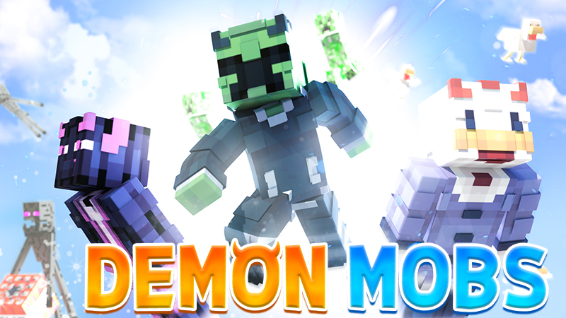 Demon Mobs on the Minecraft Marketplace by 4KS Studios