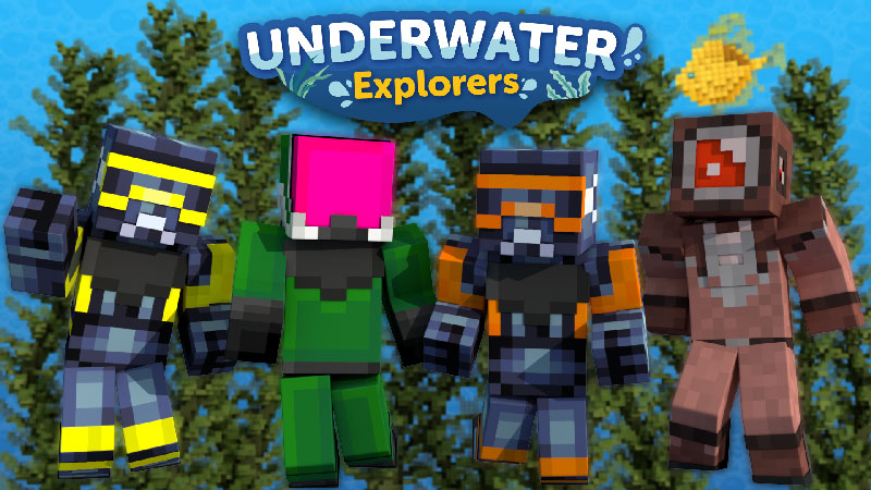 Underwater Explorers on the Minecraft Marketplace by Impulse