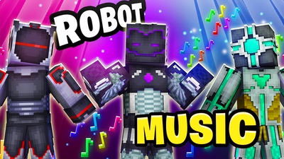 Robot Music on the Minecraft Marketplace by The Lucky Petals
