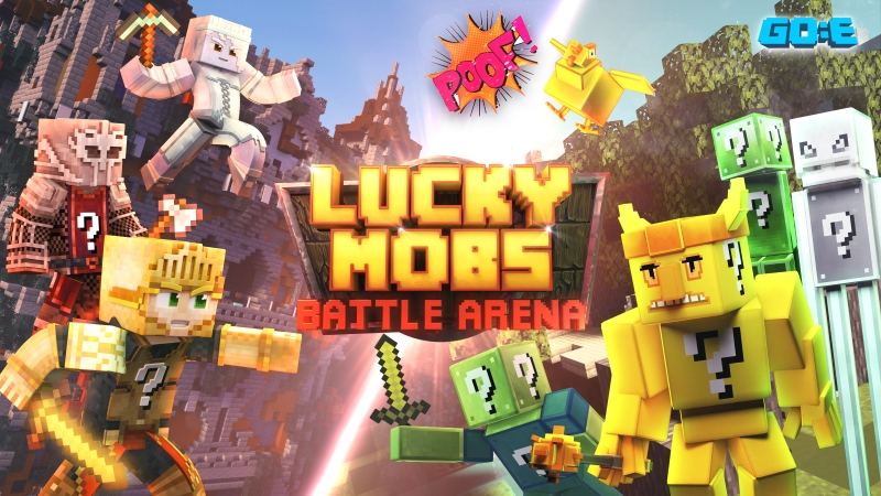 Lucky Mobs  Battle Arena on the Minecraft Marketplace by GoE-Craft