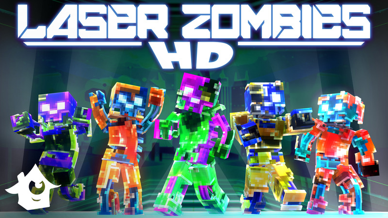 Laser Zombies HD on the Minecraft Marketplace by House of How